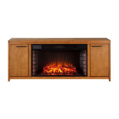 Southern Enterprises Linus Electric Fireplace