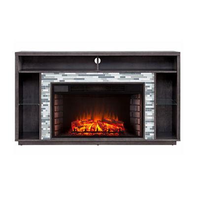 Southern Enterprises Cephas Electric Fireplace