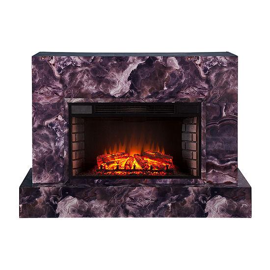 Southern Enterprises Thad Electric Fireplace