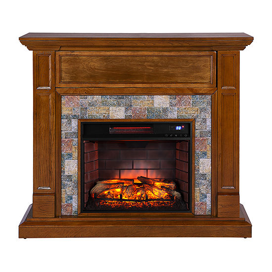 Southern Enterprises Vittorio Electric Fireplace