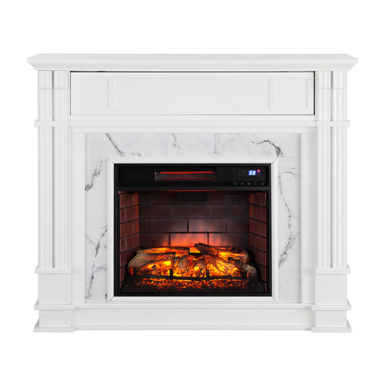 Southern Enterprises Hassan Electric Fireplace