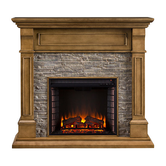 Southern Enterprises Judd Electric Fireplace