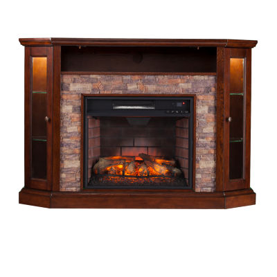 Southern Enterprises Renly Electric Fireplace