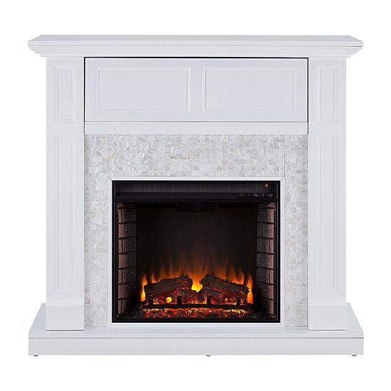 Southern Enterprises Newlin Electric Fireplace