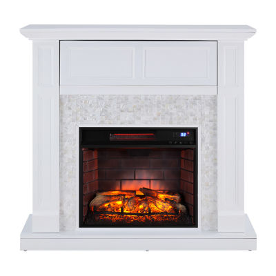 Southern Enterprises Newlin Electric Fireplace