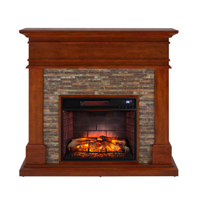 Southern Enterprises Hari Electric Fireplace