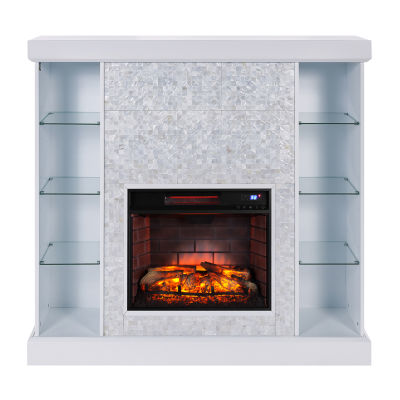 Southern Enterprises Callister Electric Fireplace