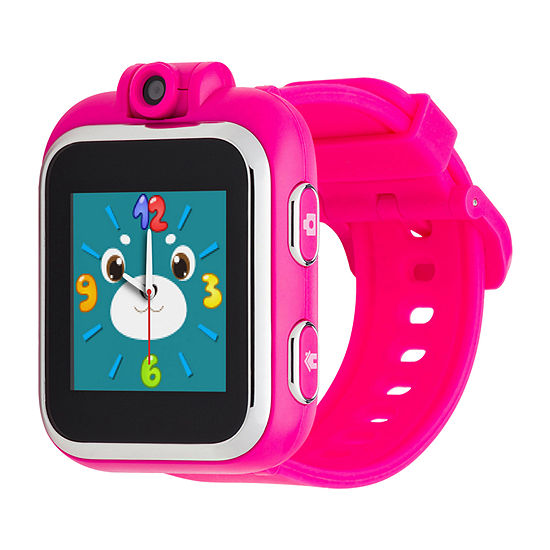 Itouch Playzoom Girls Pink Smart Watch-Ipz13089s59b-170