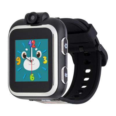 Itouch Playzoom Boys Black Smart Watch-Ipz03517s06a-Blt