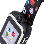 Itouch Playzoom Boys Multi-Function Black Smart Watch-Ipz03517s06a-Blt