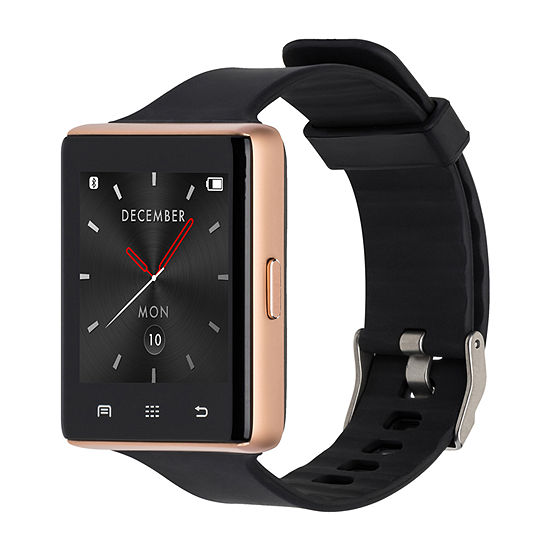 Itouch Air 2 Heart Rate Womens Multi-Function Black Smart Watch-Ita34605r932-003