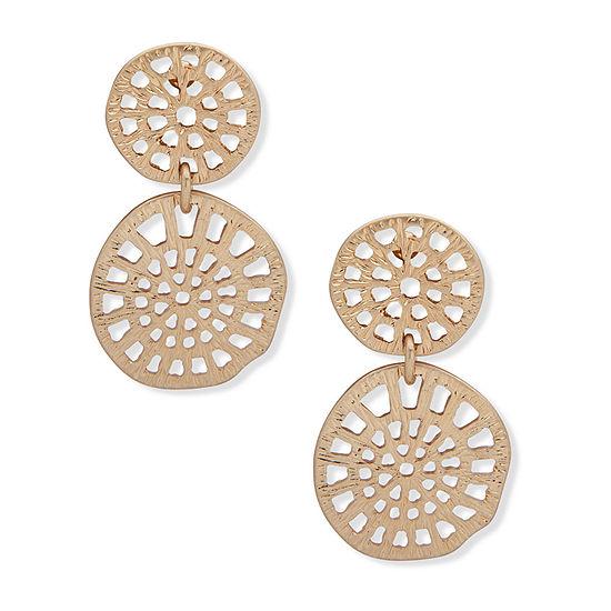 Chaps Drop Earrings
