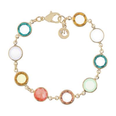 Gloria Vanderbilt Gold Tone Link Bracelet