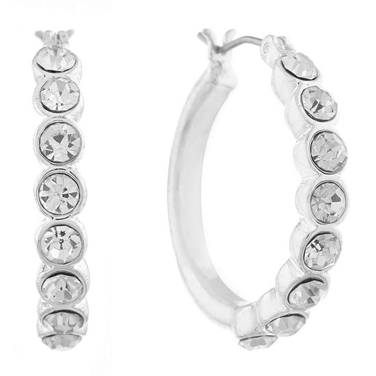 Gloria Vanderbilt 25.7mm Hoop Earrings