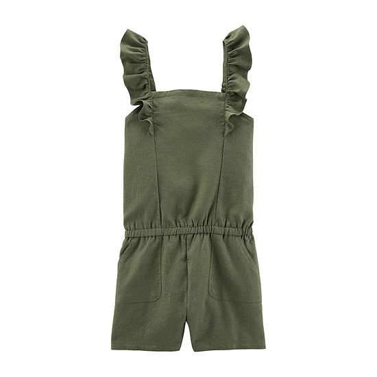 Carter's Sleeveless Romper Preschool / Big Kid Girls