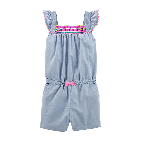Carter's Short Sleeve Romper Preschool / Big Kid Girls
