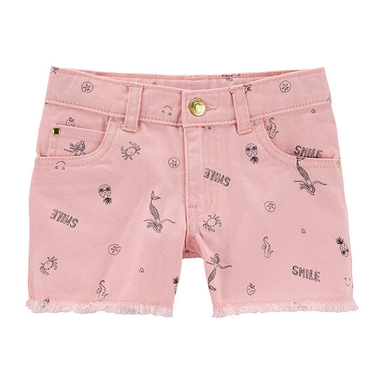 Carter's Girls Denim Short Preschool / Big Kid
