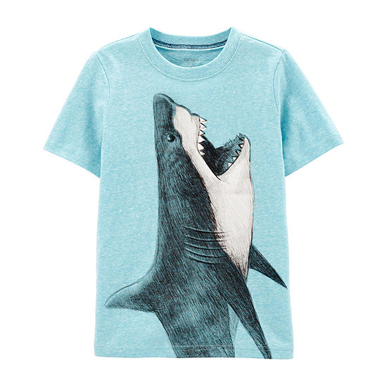 2ed7adf9a Carter's Boys Crew Neck Short Sleeve Graphic T-Shirt Preschool / Big Kid -  JCPenney