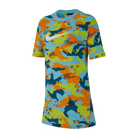3baa82548 Nike Graphic Tee Boys Crew Neck Short Sleeve Graphic T-Shirt Preschool /  Big Kid - JCPenney