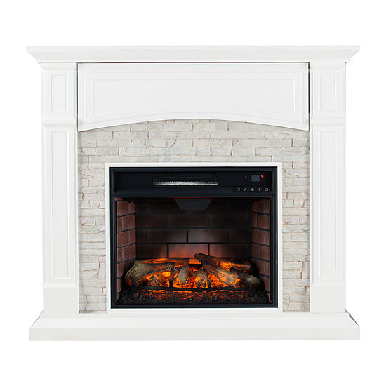 Southern Enterprises Sheldon Electric Fireplace