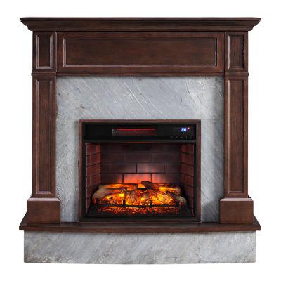 Southern Enterprises Hackett Electric Fireplace