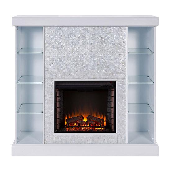 Southern Enterprises Callister Electric Fireplace