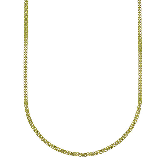 14K Gold 24 Inch Solid Chain Necklace