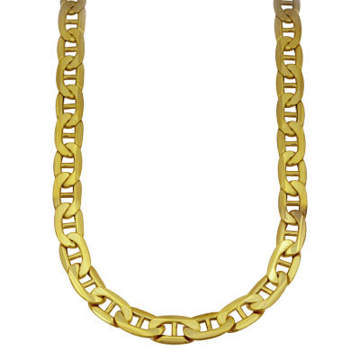 10K Gold 20 Inch Semisolid Chain Necklace