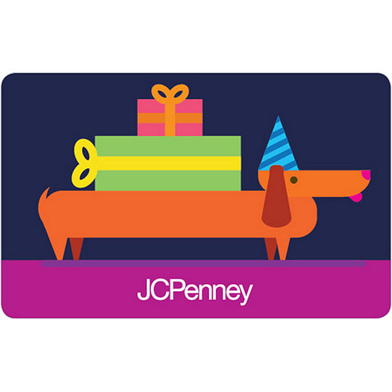 Happy Birthday Banner Gift Card