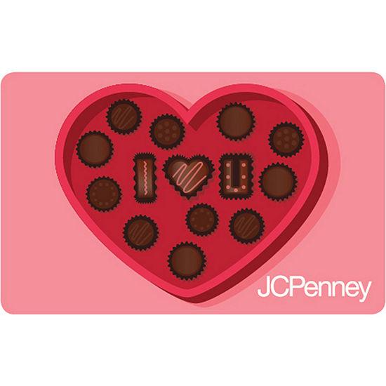 Heart Cookies Gift Card