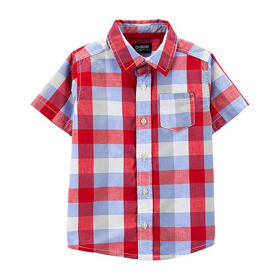 Oshkosh Boys Short Sleeve T Shirt Toddler