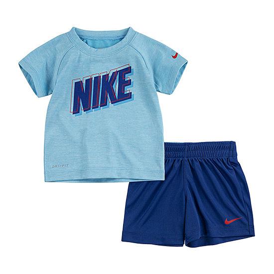 Nike 2-pc. Short Set Baby Boys