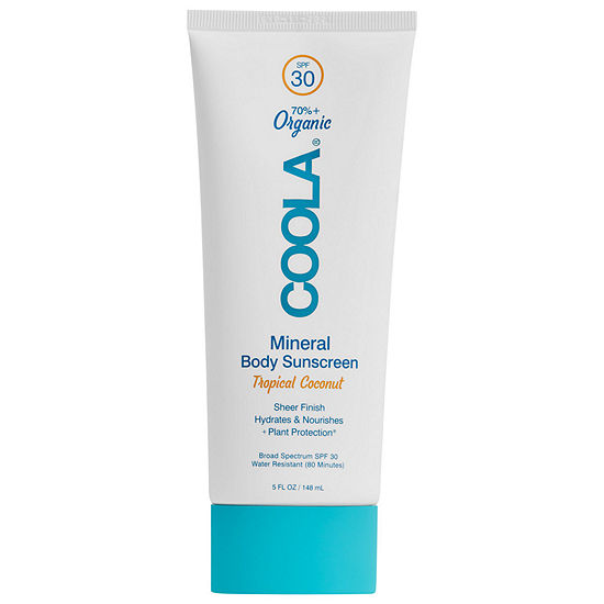 COOLA Mineral Body Organic Sunscreen Lotion SPF 30 Tropical Coconut