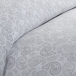 Casual Comfort Premium Ultra Soft 3-pc. Coarse Paisley Print Duvet Cover Set