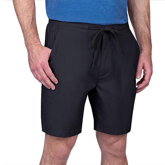 American Outdoorsman Mens Stretch Hybrid Short-Big and Tall