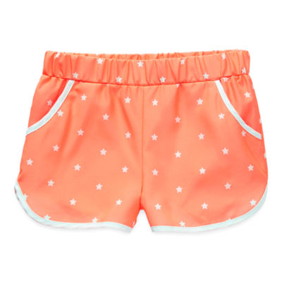 Okie Dokie Toddler Girls Mid Rise Pull-On Short