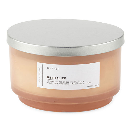Revitalize 14 Oz 3 Wick Jar Candle