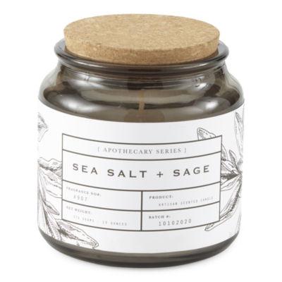 13oz Sea Salt & Sage Apothecary Jar Candle