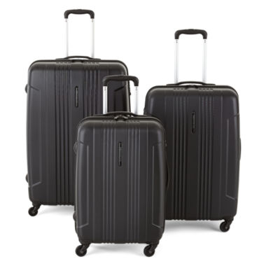 jcpenney.com | Protocol® Secure Hardside Spinner Upright Luggage Collection with TSA Locks