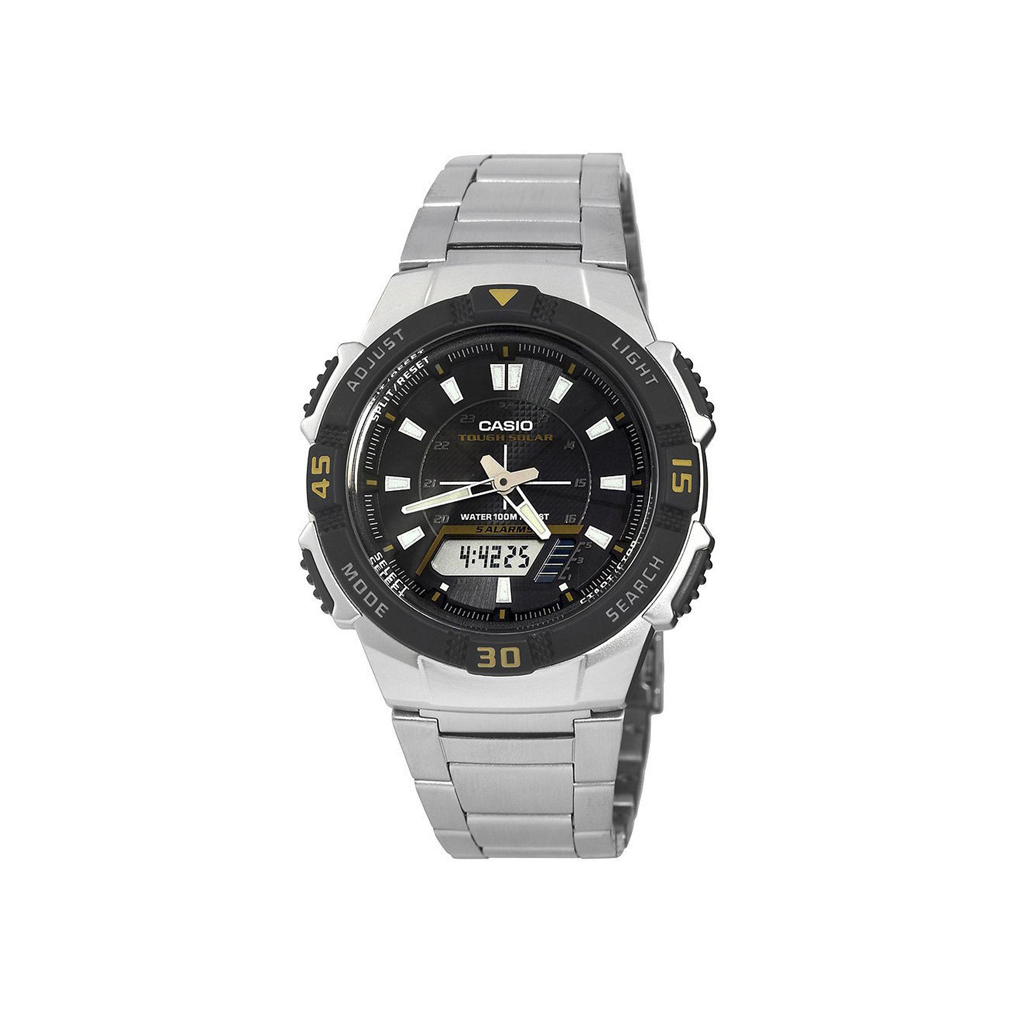 Casio Mens Analog-Digital Solar Watch AQ-S800WD-1EV