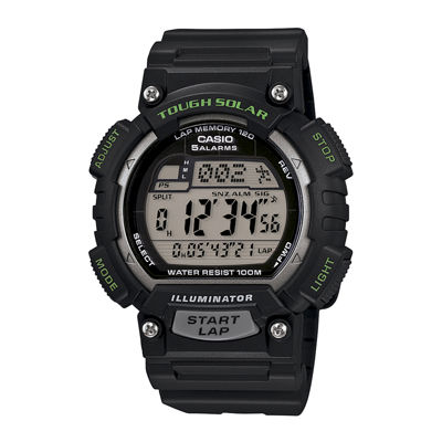 Casio® Runner Mens Solar Sport Watch STL-S100H-1AV