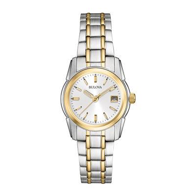 Bulova® Womens Gold-Tone Bracelet Watch 98M105