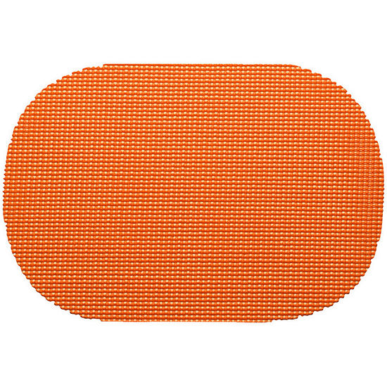 Kraftware Fishnet Set of 12-pc Oval Placemats