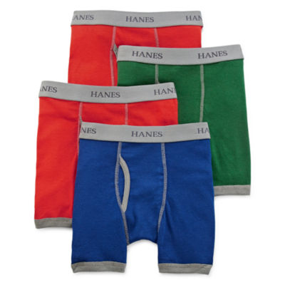 Hanes® Ultimate 4-pk. ComfortFlex® Boxer Briefs - Boys 6-20