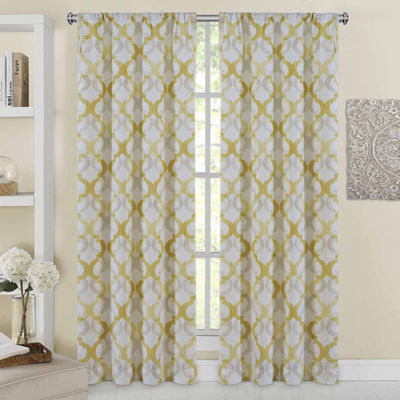 Addison 2-Pack Rod-Pocket Curtain Panels