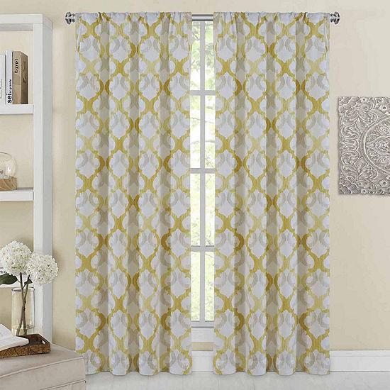 Addison 2-Pack Rod-Pocket Curtain Panels