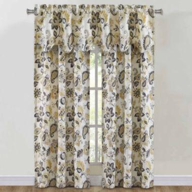 jcpenney.com | Richloom Bijoux Rod-Pocket Window Treatments