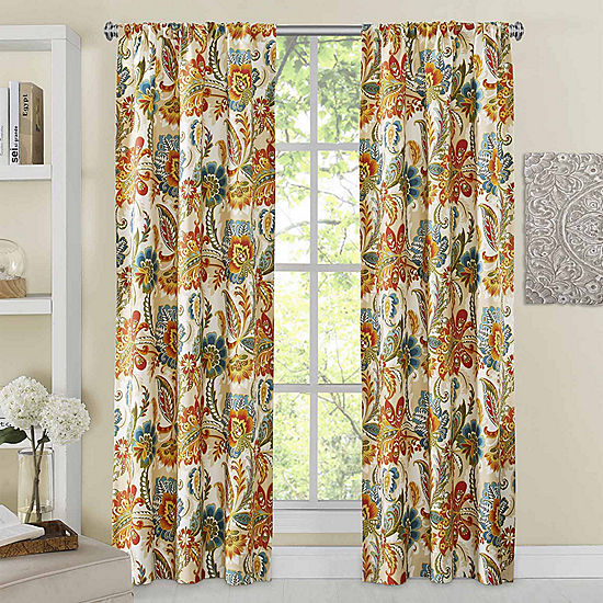 Richloom Ayer 2 Pack Rod Pocket Curtain Panels