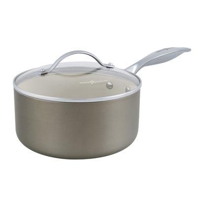 Trisha Yearwood 2-qt. Nonstick Aluminum Sauté Pan with Lid
