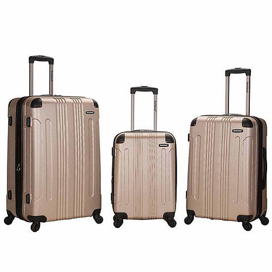 eac28b9f3052 Rockland Sonic 3-pc. Hardside Luggage Set